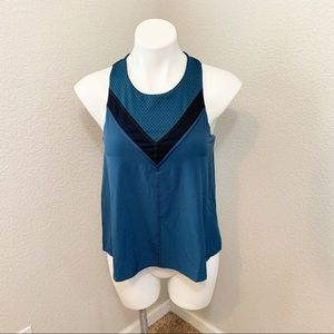 3/$25 Lucy Blue Racerback Athletic Tank Top